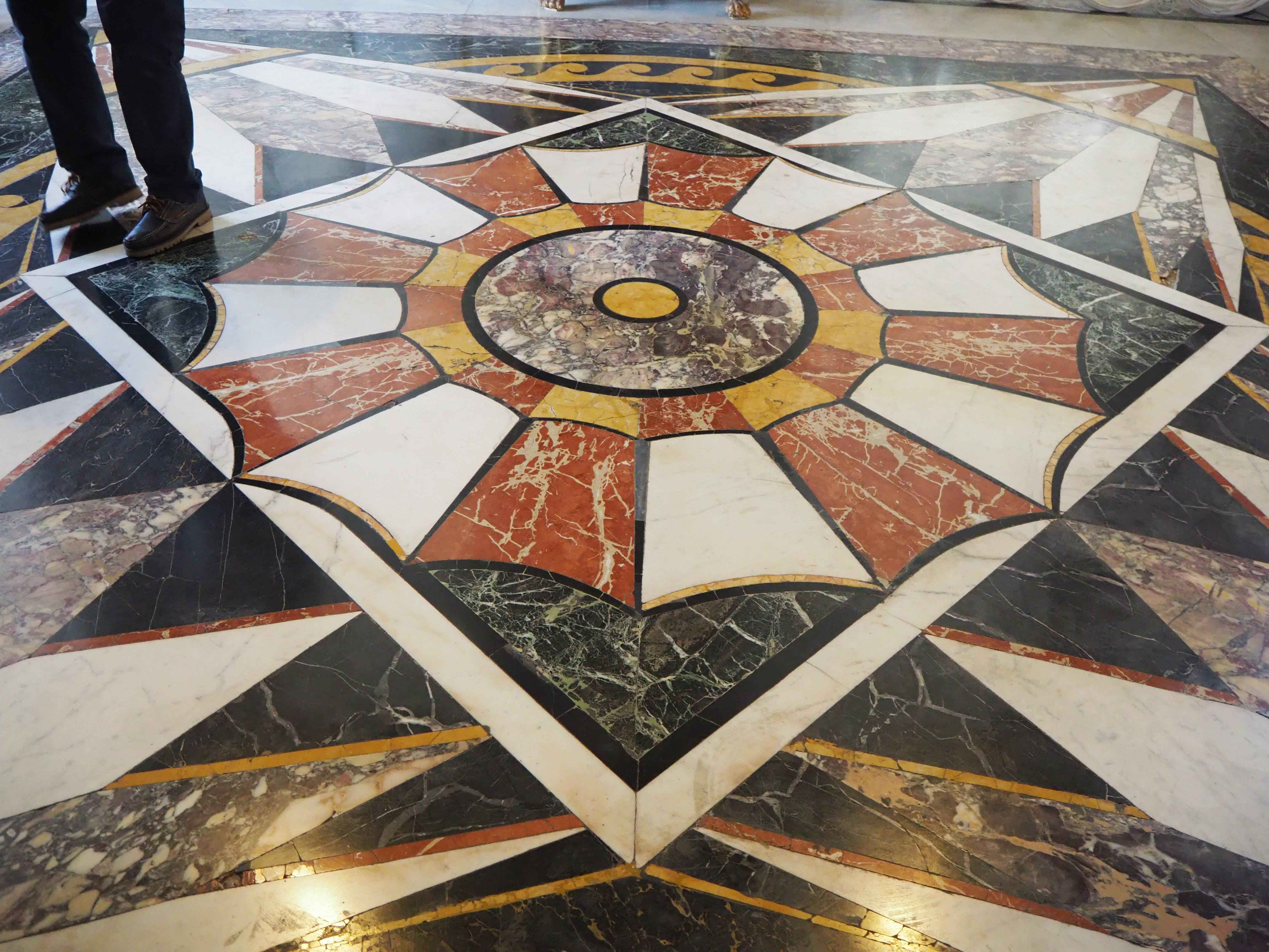 Progetto pavimenti: il lavoro con l'Accademia
